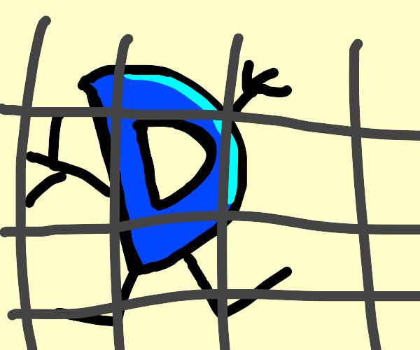 Drawception D in jail