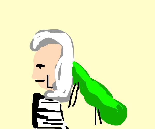Mozart but as a caterpillar