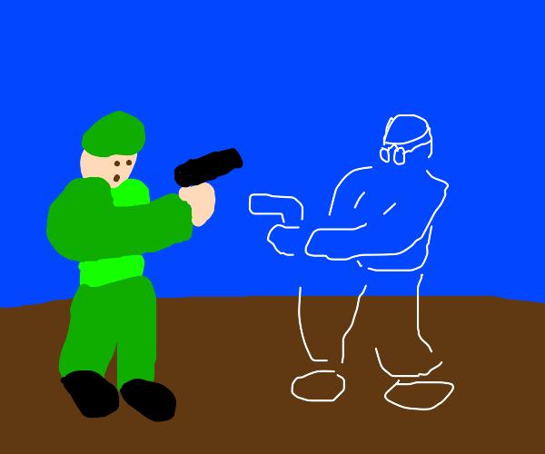 future soldier vs WW1 soldier