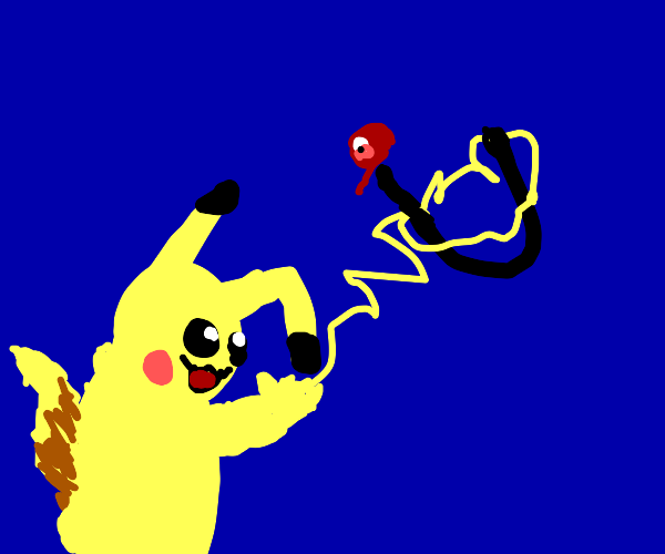 Pikachu catches U