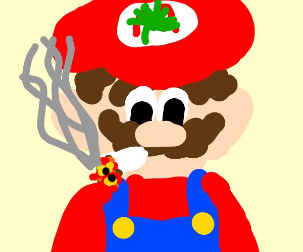 Mario high as always