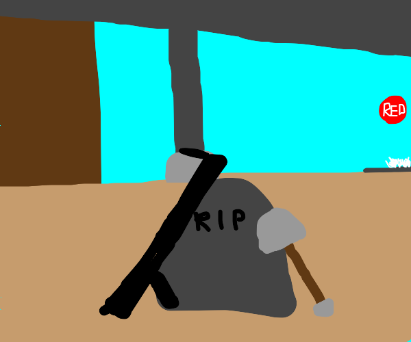 Rest In Peace soldier from team fortress 2