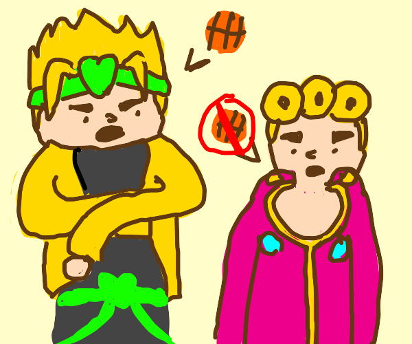 Dio wants giorno to play more sports