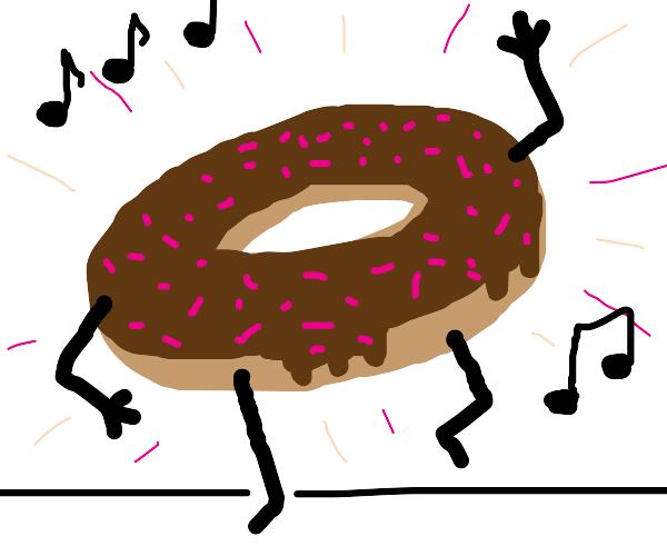 Dancing donut!