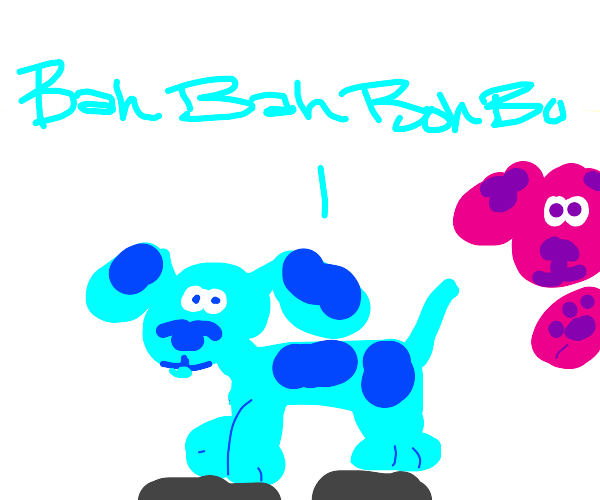 doggo from BLUE'S CLUES