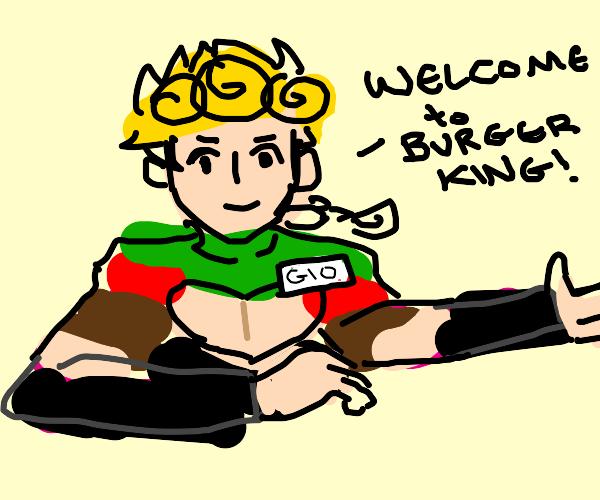 Jojo burger king