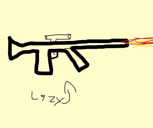Lazy Gun