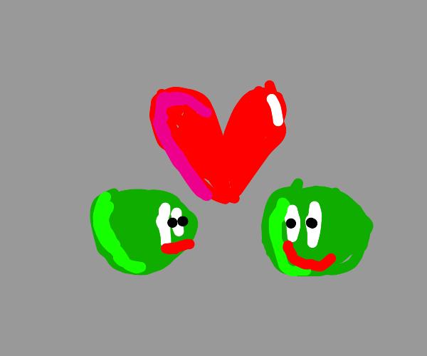 Lesbian peas?