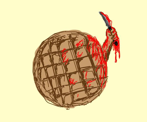 waffle killer ((cereal killer prompt?))