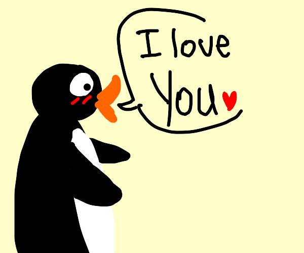 Pingu loves you