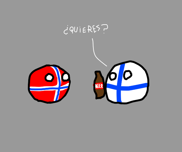 Finland offers Norway a beer