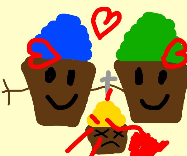 Murderous cupcake love