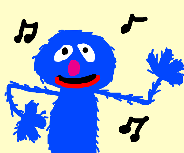 sesame street grover singing