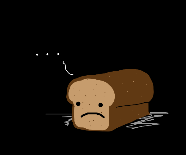 Bread contemplates life