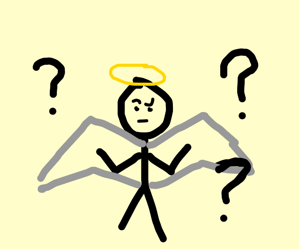 Angel is confused
