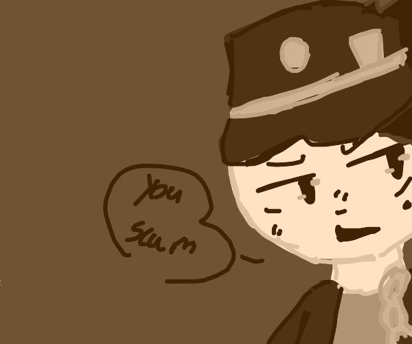 Jotaro Calling You Scum