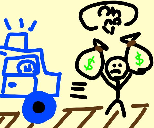 bank heist gone wrong