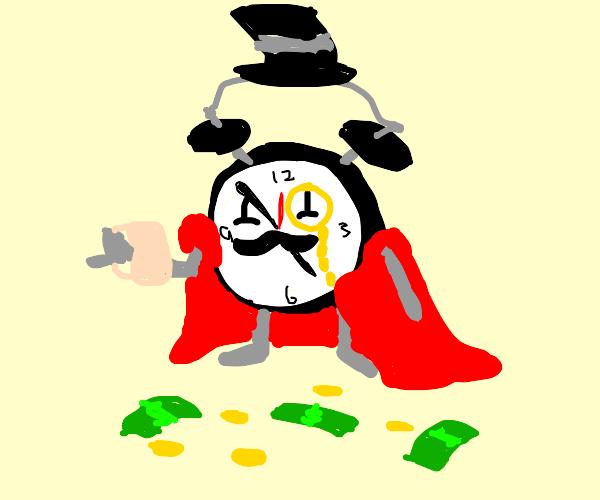 Wealthy Alarm Clock