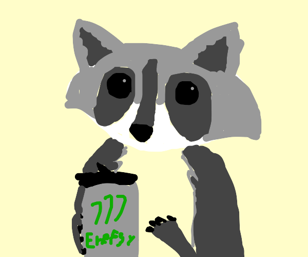 Energetic Raccoon