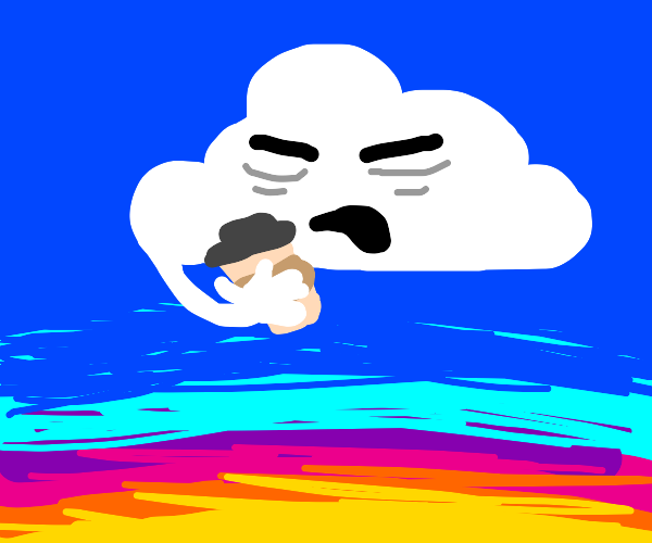 Tired cloud