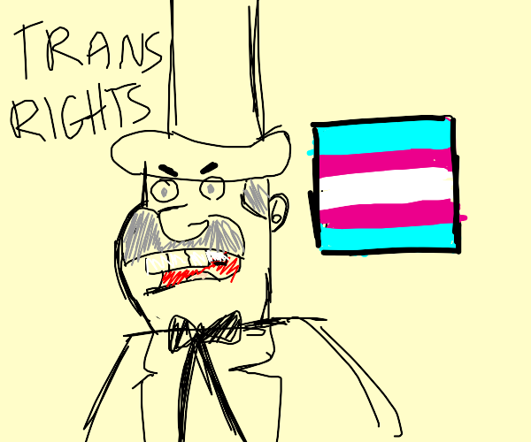 doug dimmadome says trans rights!