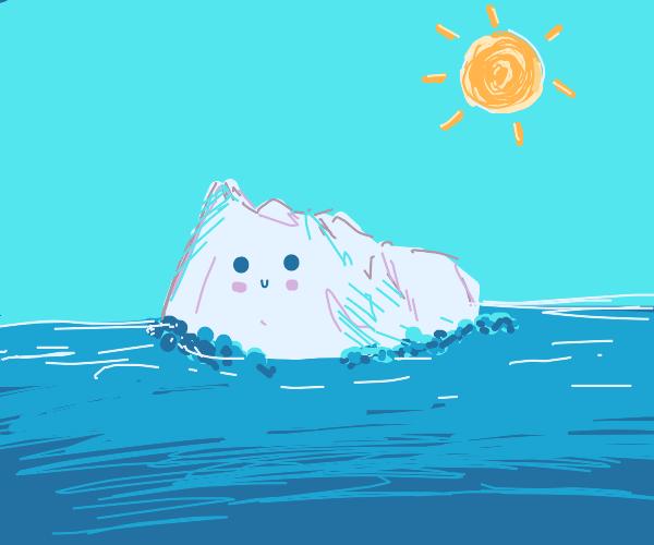 Cute iceberg