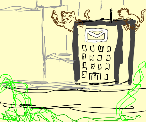 Monkeys invade a u.s. mail building.