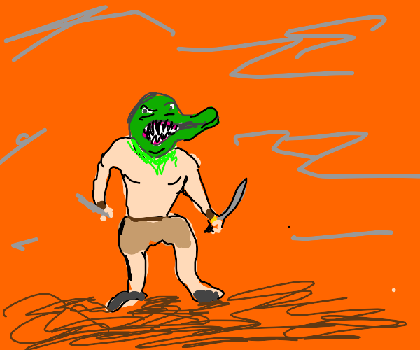 Crocodile Minataur