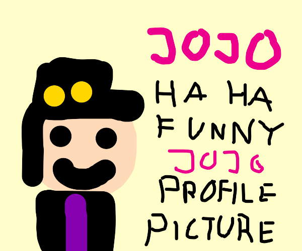 My new profile picture on Drawception