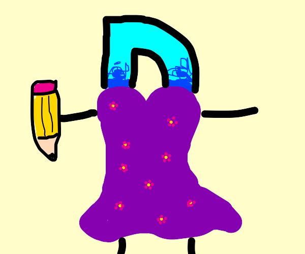 Drawception in a dress