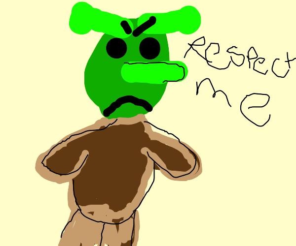 Ogre demands respect