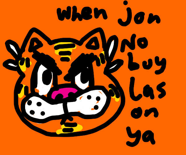 Garfield Meme Drawception