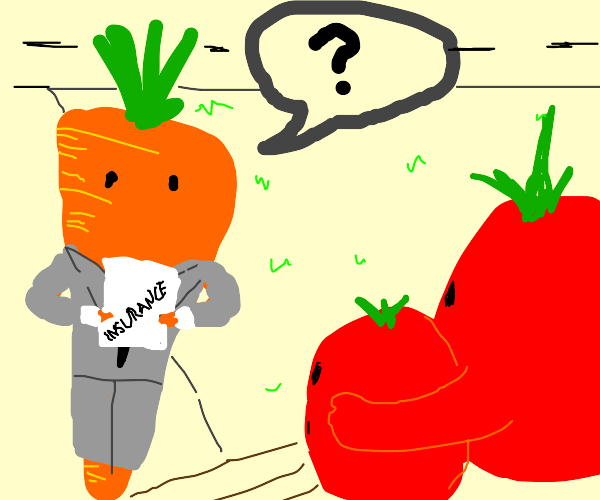 Carrot wants to talk about insurance