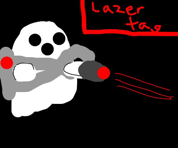 ghost lazar tag