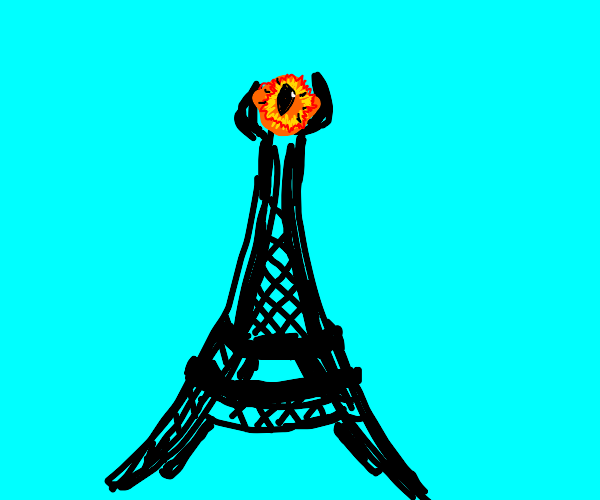 The Eiffel Tower is the Eye of Sauron