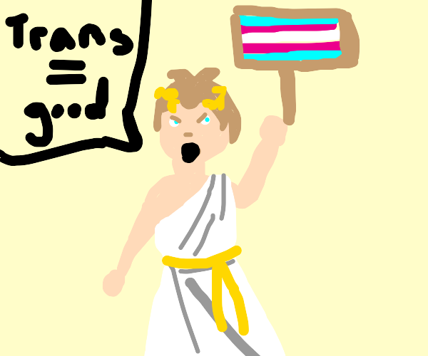Julius Caesar supports Trans Rights
