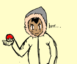 One cold pokemon boi