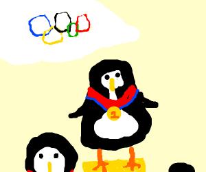 Olympic Champion Penguin