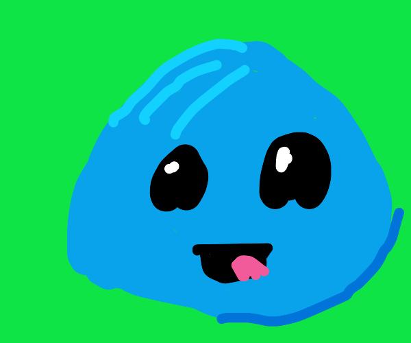 Blue slime.