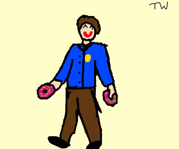 Trigger happy police officer :(