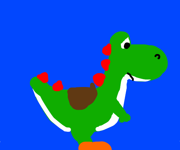 Yoshi is dissapointed