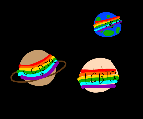Lgbt rights on every planet