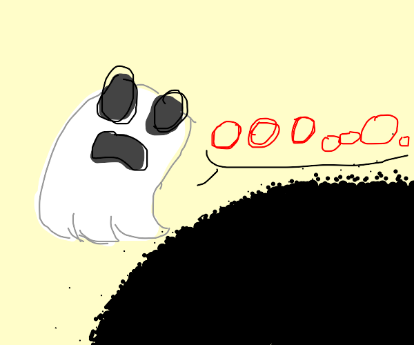 ghost screams into the void