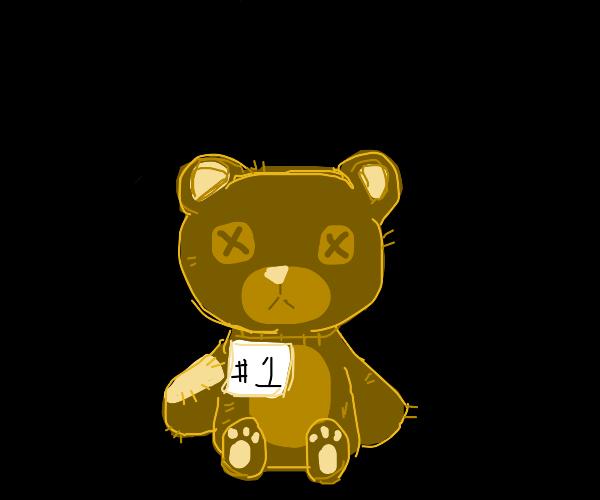 Soulless teddy bear is #1!