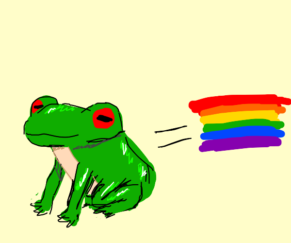 We Did It, We Made The Now Frogs Gay!