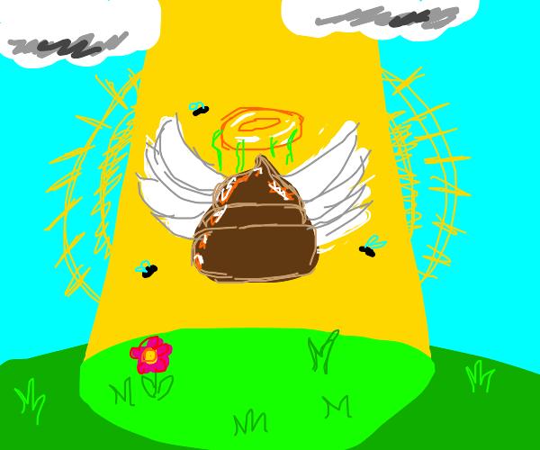 Heavenly poop