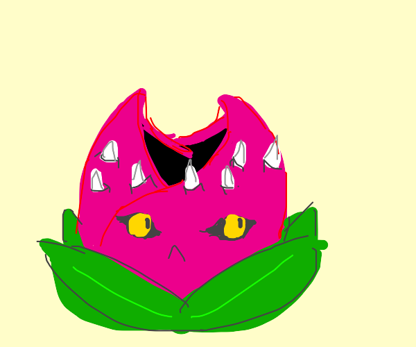 It's that weird cat flower from JOJOs