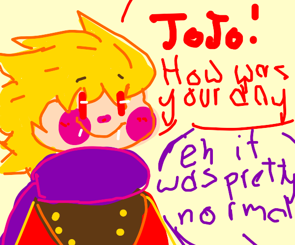 Finally, JoJo's normal adventure