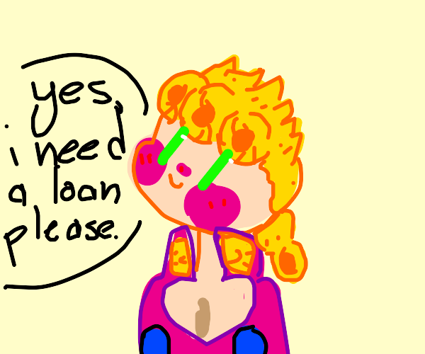 Giorno applies for a loan