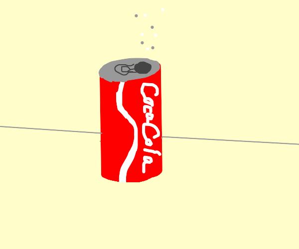 Coke in a Tin Can